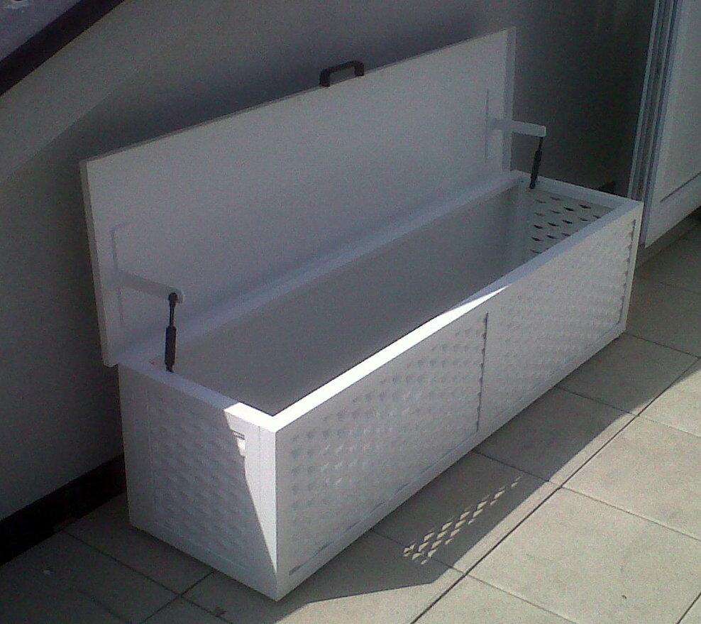 Contenitori mfs carpenteria fabbro for Panca contenitore da terrazzo
